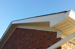 Soffits and Aluminum Metal Wrapping