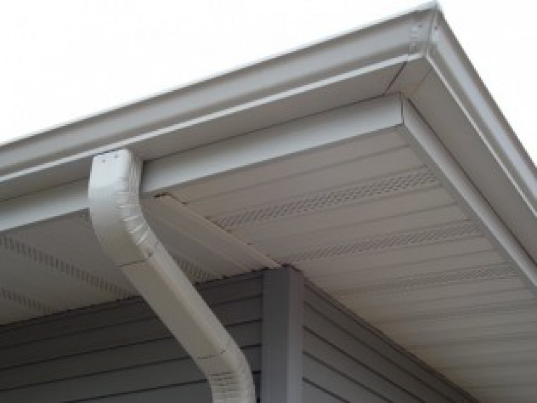 NEW SEAMLESS ALUMINUM GUTTERS AND DOWNSPOUTS