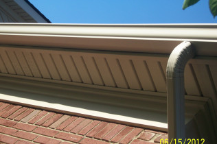 New Sealess Gutters & Soffits