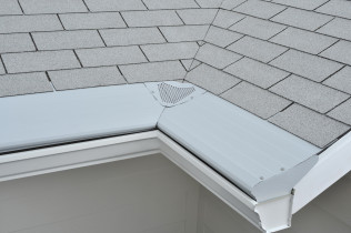 Never Clean Your Gutters Again! Gutter Helmet