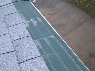 ROOFER DAMAGE: GH OUT OF ALIGNMENT AND SCRAPED UP BADLY!