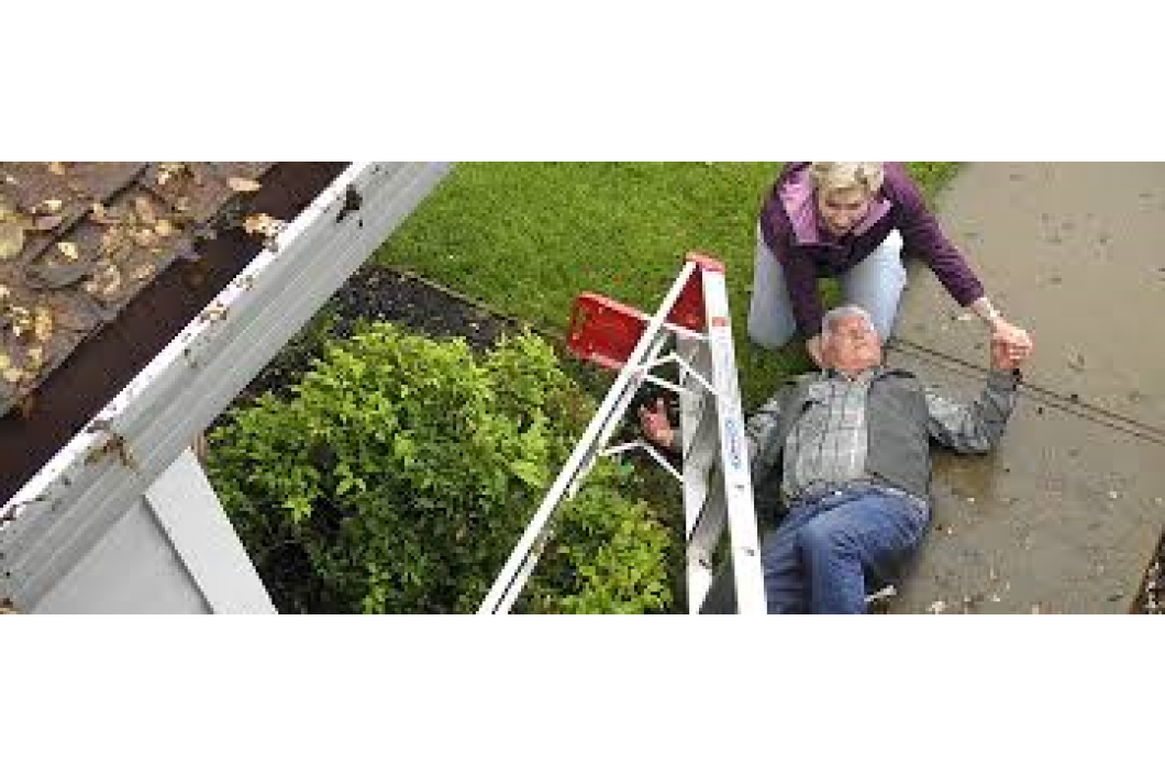 Falling Off A Ladder Could Cost More than just Money!!!