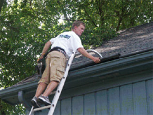 NO ONE SHOULD EVER REMOVE OR REINSTALL YOUR GUTTER HELMET ACCEPT A GUTTER HELMET CERTIFIED INSTALLER